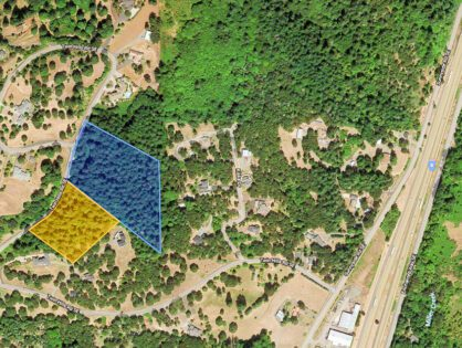 Two Acreage Lots in Desirable gated Twin Hills Estates